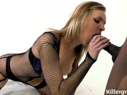 Screwed Rock-Hard By Ample Ebony Pillar - PornGem