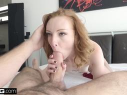 Inserted - Sandy-Haired Katy Smooch gets her taut cunny screwed