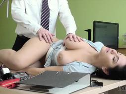 Buxomy black-haired, Alex got torn up to get the loan she needed, and loved how it sensed