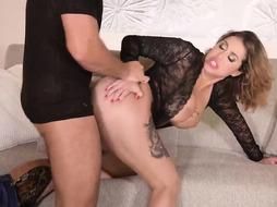 Heidi Von Insatiable did not skip suggesting her cock-squeezing booty to a stud with a firm boner