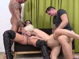 EXTREM SUPER-STEAMY GERMAN TEENAGERS IN GANG ANAL INVASION POUND WITH MARIONETTE NUBILE