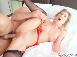 Natasha Starr, London Sea, Nina Elle and Cherie DeVille like to cheat on their colleagues