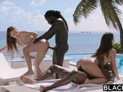 BLACKED 2 Hottest Buddies Get Blacked Together For The Very First Time