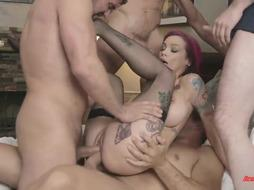 Anna Bell Peaks Gang-Fucked