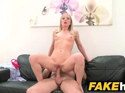 Shy model likes her pussy licked