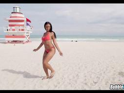 Perfect Mocha Bikini Babe