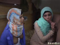 Arab boobs sucking Operation Pussy Run!