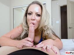 Stepmom and stepsis shared my big cock