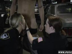 Bad cop threesome Chop Shop Owner Gets Shut Down